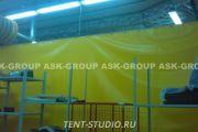 Шторы для склада, стройплощадок и производственных цехов
